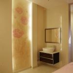 Декоративно-художественная роспись стен в спа-салоне