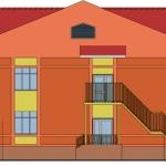 Типовой проект детского сада на 190 мест (г. Воткинск, Удмуртия)