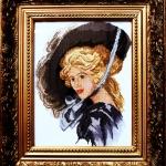Портрет неизвестной в шляпе.