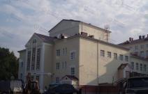 Национальный театр УР, г. Ижевск. Устройство кровли