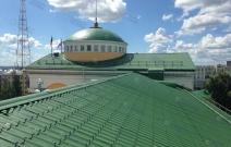 Резиденция Президента УР, г. Ижевск. Ремонт кровли, устройство вентиляции