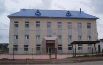 «УваДревСтрой», гостиница, п. Ува. Устройство кровли, облицовка вентилируемого фасада