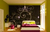 Дизайн квартиры, спальня. Казань