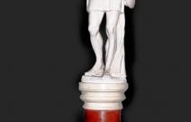 Скульптура молодого грека. Интерьерная скульптура.
