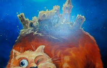 «Чудо-юдо-кот», холст, масло