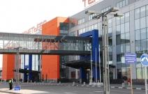 Москва. Аэропорт Шереметьево. Терминал С. Светильники «Паркад»