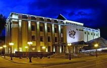 Горно-Алтайск. Музей им. Анохина. Светильники «Квадро»