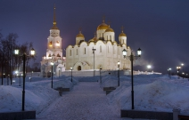 Владимир. Успенский собор. Комплексное освещение