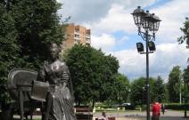 Измайлово, Москва. Высокомачтовые осветительные установки (ВОУ)