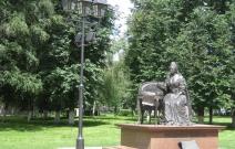 Московская область, г. Подольск, центральный парк. Светильники «Меридиан»