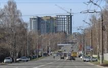 Жилой комплекс «Парус» в Ижевске по ул. Пушкинская