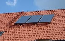 Система солнечных коллекторов для ГВС. Частный жилой дом