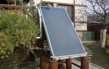Солнечный коллектор для ГВС. Частный жилой дом