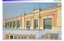 Архитектурная студия «ДГ ПРОЕКТ». Торговый комплекс в классическом стиле. МО, г. Люберцы