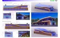 Архитектурная студия «ДГ ПРОЕКТ». Автомоечный комплекс NEPTUN PLAZA. Новочебоксарск, ул. Промышленная, 61а