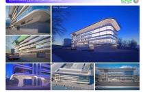 Архитектурная студия «ДГ ПРОЕКТ». Проект гостиничного комплекса. Люберцы