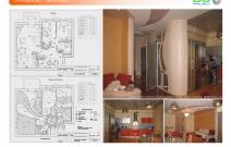 Архитектурная студия «ДГ ПРОЕКТ». Дизайн-проект квартиры. Москва, ул. Береговая, 8