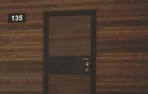 Серия: Fortis. Замковая система: Sucuremme (Италия). Декоративная отделка: Terma Inserto Орех американский и Черный гранит (Италия). Фурнитура: Arena (Италия)