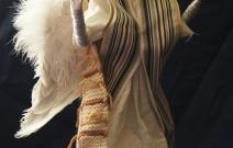 Портретная кукла - Ангел. Цернит, текстиль. Высота 330 мм.