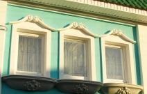 Оформление окон. Подвесные балконы в стиле барокко. Ижевск.