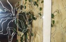 Объект № 2. Декор стеклянной двери.