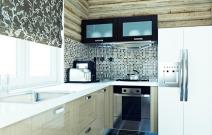Дом деревянный. Кухня.