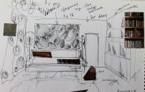Проект дизайн интерьера частной квартиры. Ижевск