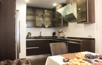 3-х комнатная. квартира в городском стиле. Кухня
