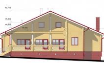Индивидуальный деревянный дом на большую семью «Семья Я», Пермь