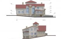 Индивидуальный деревянный дом премиум-класса «Пауль», Пермь