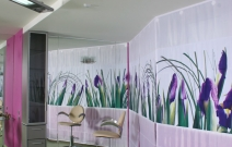 Салон красоты «Ирис», парикмахерский зал. Ижевск