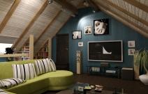 Дизайн интерьеров загородного дома. Ижевск