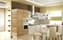 Дизайн интерьеров загородного дома. Кухня. Ижевск