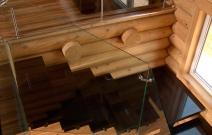 Дизайн коттеджа, лестница. Ижевск