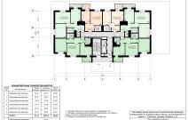 Архитектурное бюро MADE GROUP. Жилой комплекс «Аллея звезд» на бульваре Гагарина, 8 в Смоленске. План 2-го этажа