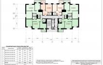 Архитектурное бюро MADE GROUP. Жилой комплекс «Аллея звезд» на бульваре Гагарина, 8 в Смоленске. План 3-го и 4-го этажа