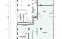 Архитектурное бюро MADE GROUP. Жилой дом «Futura» на улице Холмогорова в Ижевске. План 1-го этажа