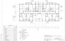 Архитектурное бюро MADE GROUP. Жилой дом «Смуглянка» на улице Баранова в Ижевске. План 1-го этажа