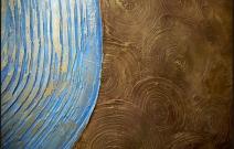 Милан — декоративное рельефное покрытие с шероховатой поверхностью