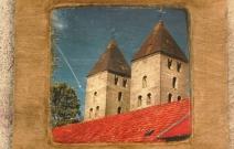 Монастырские башни. Декоративное настенное панно
