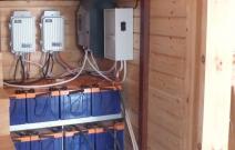 Солнечная генерация 5 кВт. Тех. помещение. Приморье