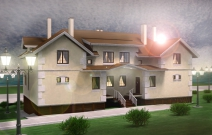 Проект блокированного жилого дома в Салехарде