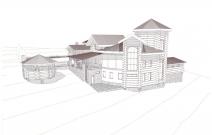 Проект индивидуального жилого дома в п. Гархов, Чехия