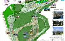 Разработка генплана горнолыжного курорта в Нечкино