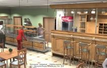 Реконструкция столовой в с. Сигаево Сарапульского района Удмуртии