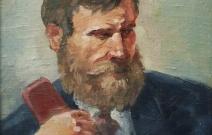 «Портрет отца», холст, масло
