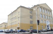 Здание школы. Сарапул