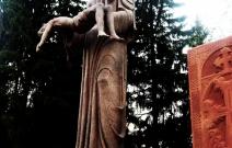 Памятник Невинным жертвам в городе Ижевске.