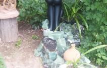 Баст. Парковая скульптура.