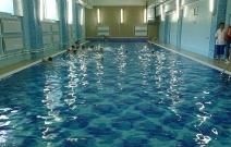 Частный бассейн, интерьер